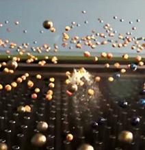 Massive 840 Barrel Paintball Gun Paints Mona Lisa