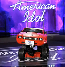 Even American Idol Sports A Transformers Costume