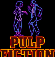Neon Movie Signs: The Animated Gif Versions