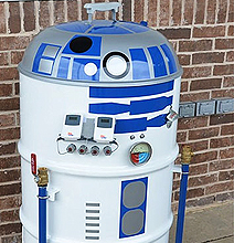 R2-BBQ & Beer2-D2: Perfect For The Summer BBQ Party