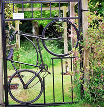 Bike Garden: Try Stealing These Bikes!