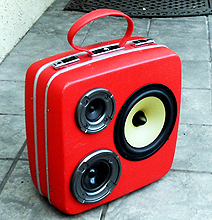 BoomCase: Suitcases Recycled Into Awesome Portable Speakers