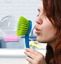 Bubble Scrubber: The Fun Way To Clean The Dishes