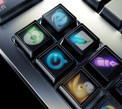 Keyboard Heaven – The LED In Look