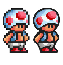 8-Bit Characters Depixelized: Awesome Futurfication Software