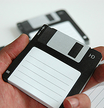 Disk-it: The Most Creative Post-It Notes Ever