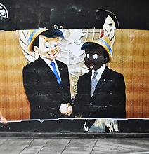 Disney Street Art Goes Where No Art Has Gone Before