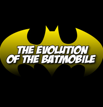 The Evolution Of The Batmobile [Infographic]