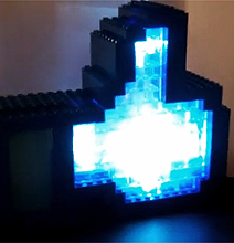 Facebook Like Light: Interactive Lego Like Button Build