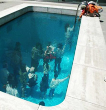 Ever seen a fake pool look real? | Amazing!