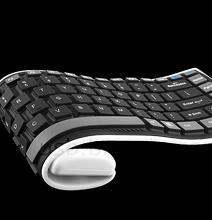 Geek Bonanza: Flexible Keyboard For Your Smart Phone!