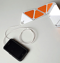 A Folding Speaker for Your iPhone, iPod and iPad!