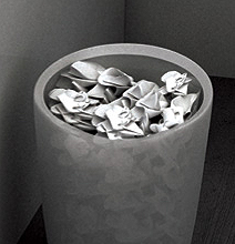 Flexible Waste Basket: One Less Trip To The Garbage Can