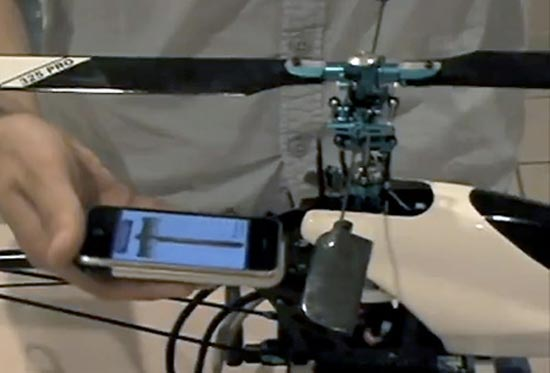 Fliphone – iPhone App Controlling a Helicopter