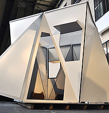 A Folding Luxury Shelter For The Traveling Geek