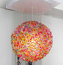 Gummy Bear Chandelier | Sweet Glowing Nom Nom