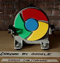 Google Chrome: Literally Faster Than A Gunshot [Video]