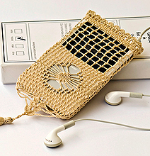 Granny Tunes: Hand-Knitted iPhone and iPod Cases