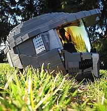 Unreal Wearable LEGO Halo Master Chief Helmet