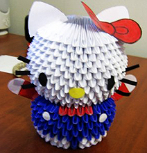 How To: Create A 3D Origami Hello Kitty