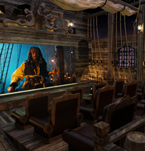 Batman & Pirates Themed Home Movie Theaters