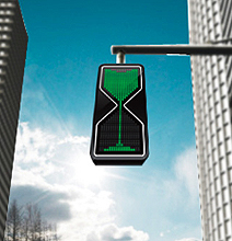 Hour Glass Traffic Lights: New Digitalized Ancient Approach