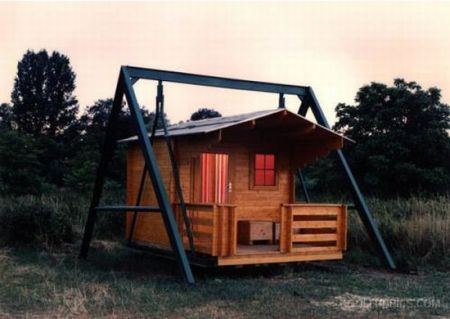 House On A Swing – Carsickness Assured