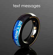 Interactive Finger Ring | Hybratech's Bluetooth Phone Ring