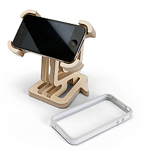 IconicStand: Custom Make Your Own iPhone 4 Stand