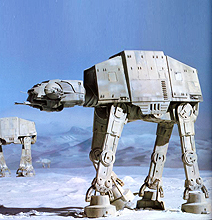 A Never Before Seen Look Inside An AT-AT Imperial Walker
