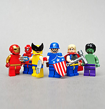 Lego Superheroes: Everything Looks Better In Lego
