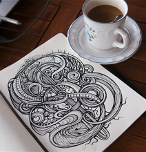 Doodling Much? - Well, This Is What I Call A Sketchbook!