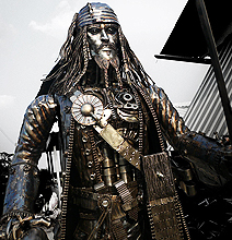 Behold The Steampunk Jack Sparrow