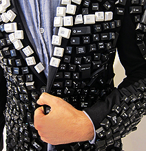 Keyboard Jacket: For Geeks Who Want To Push Buttons