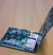 How To: Create a Wallet from a Keyboard | Geek Style