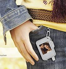 Keychain Digital Photo Frame: Flash Them Photos!