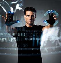 Kinect Hack: Minority Report User Interface Duplicated!