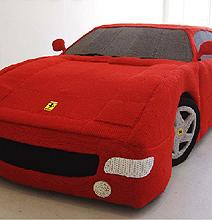 Yarn Ferrari: Carefully Knitted Using 12 Miles Of Yarn