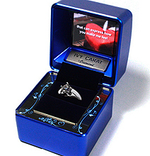 LCD Enhanced Engagement Ring Box To Ensure A Yes!