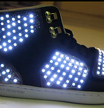 Screw The McFly Sneakers: These LED Ones Are Much Cooler