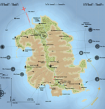 Cartographer Creates Full Map Of LOST Island