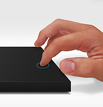Lacie Float: Hard Drives Now Get A Touch Surface Trackpad