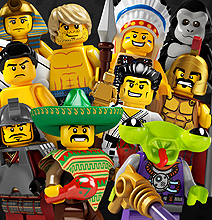 Lego Minifigures: Now A Mind-Numbing iPhone App