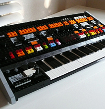 Lego Roland Jupiter 8 Synthesizer Brings Back The Retro
