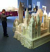 Epic Hogwarts School Created Out Of 602,000 Matchsticks