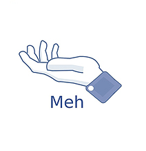 "The ""Meh"" Button Soon Available As A T-Shirt!"