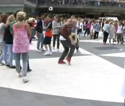 Michael Jackson Tribute Dance – Stockholm, Sweden