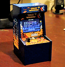 World's Smallest Space Invaders Arcade Game Machine