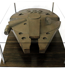 The Star Wars Millennium Falcon Coffee Table