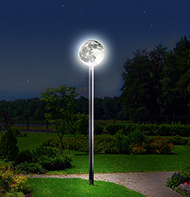 You Want Moonlight? – Check Out This Street Light!